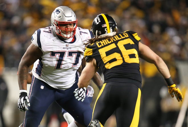 There's no place like Foxboro for Patriots offensive tackle Trent Brown.