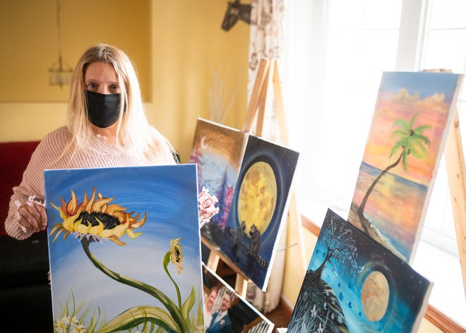 Since the start of the pandemic, Susan Dunshee has transitioned her business Just Paint Studio into a secondary business called Studio D, with a focus more on interior design.