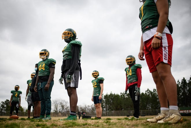 Pine Forest's defense has held some of the county's top offenses to an average of nine points. The Trojans will be tested again tonight by Terry Sanford.