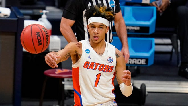 Florida guard Tre Mann, a Gainesville native, entered the NCAA tournament averaging 16 points and 5.7 rebounds per game.