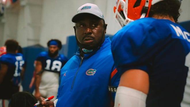 Florida assistant coach Wesley McGriff has a long history in the Southeastern Conference and has NFL experience.