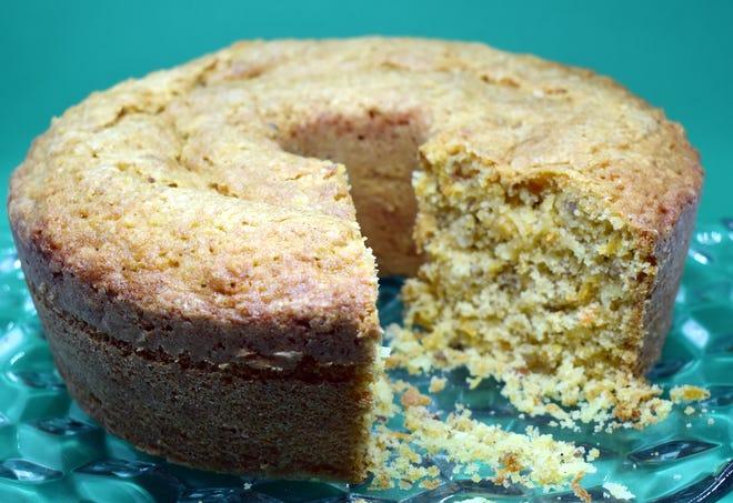 Carrot Pound Cake.