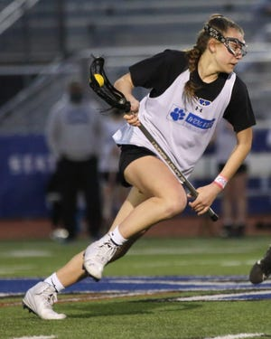 Freshman Ava Todd is one of the top midfielders for Kilbourne. According to 29th-year coach Doug Troutner, 20 of the Wolves' 26 players didn't have varsity experience entering the season.