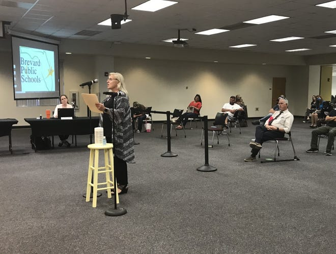 The Brevard County School Board voted to terminate Allison Enright for medical marijuana use at a Tuesday meeting