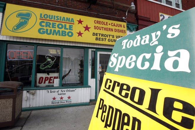 Louisiana Creole Gumbo located at 2053 Gratiot, Detroit, MI