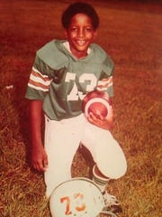 Derrick Gragg started playing football, basketball and T-ball when he was 7 years old.