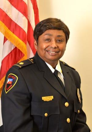 Retired Maj. Luranie Richard of the Lafayette Police Department.