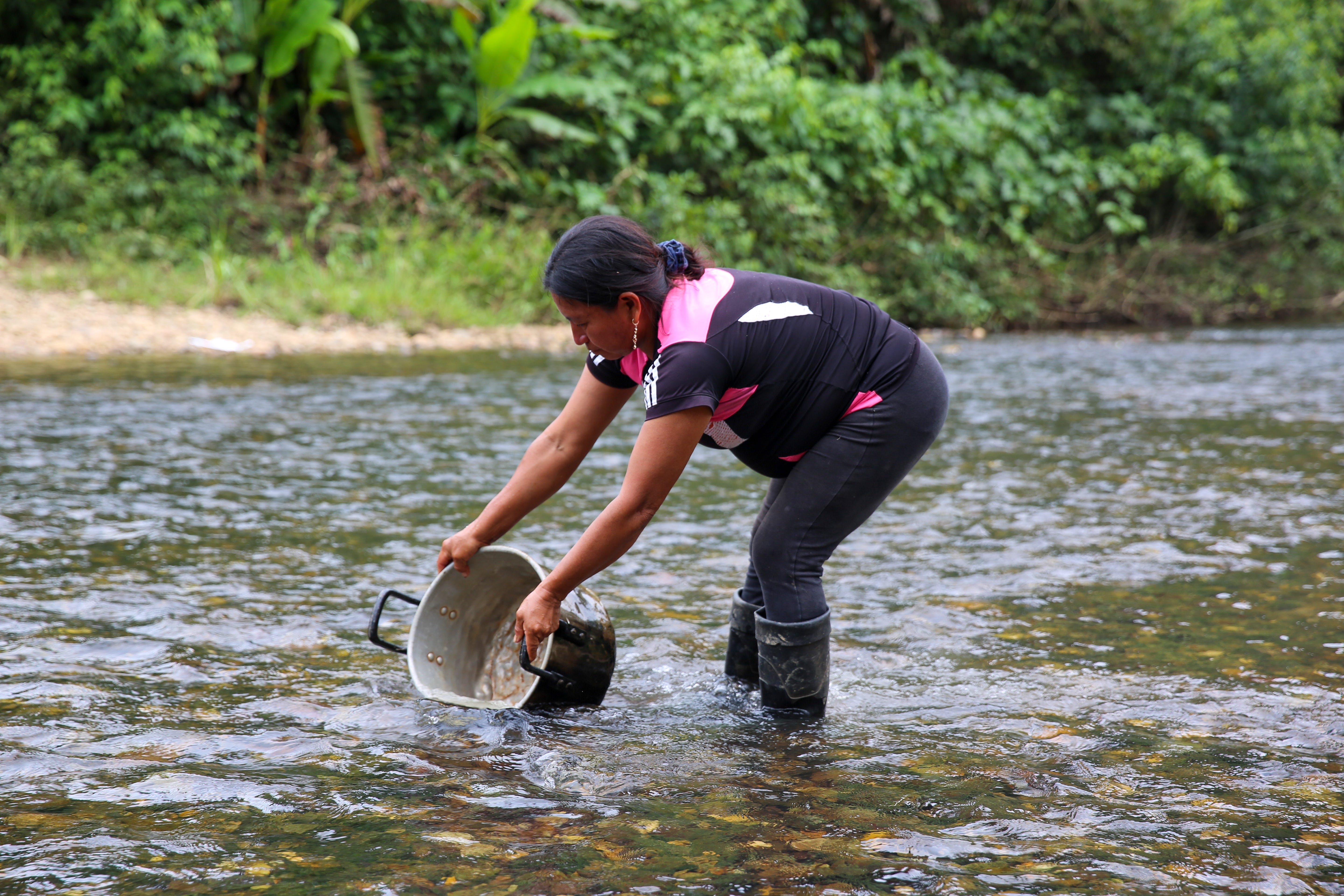 Indigenous Kichwa in the Napo Province of Ecuadorian Amazon basin, where Louisville-based MedWater works to bring safe water, sanitation and hygiene to fight rampant waterborne illness.