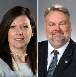 State Rep. Marilyn John and State Sen. Mark Romanchuk joined their fellow Republicans Wednesday in voting to override Gov. Mike DeWine's veto of a bill that would change how health orders work.