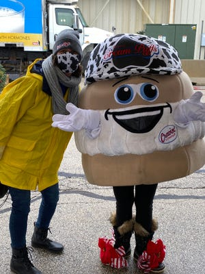 The Original Cream Puffs are looking to hire a new Cravin' D. Cream Puff mascot.