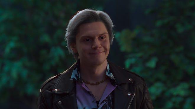 "Evan Peters plays Pietro in the Marvel series ""WandaVision,"" streaming on Disney+."