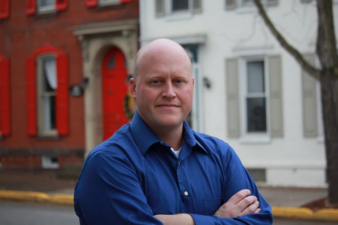Brian Allen is running for Congress to represent the state's 10th District