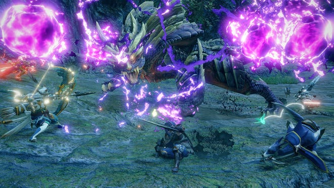 Flagship monster Magnamalo debuts in Monster Hunter Rise on the Nintendo Switch.