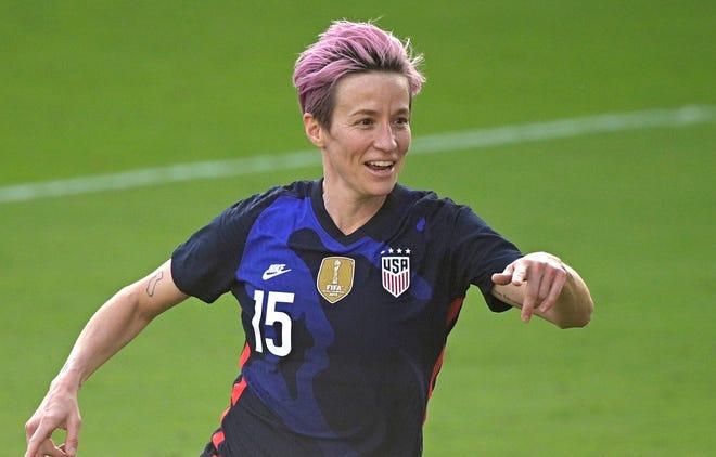 U.S. women's national team forward Megan Rapinoe and her teammates will open up Q2 Stadium in an exhibition match versus Nigeria on June 16.