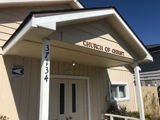 Church of Christ on Superior Avenue in Burney