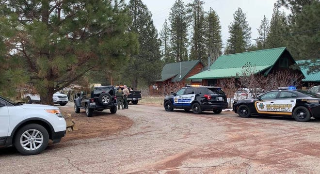 Shasta County sheriff's officials responded to a home in Old Station for a report of a man making threats to harm neighbors on Wednesday, March 24, 2021, according to a news release.