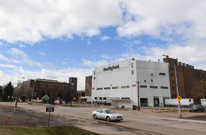 Smithfield Foods stands open for operation on Wednesday, March 24, 2021 in Sioux Falls.