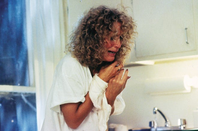"Alex Forrest in ""Fatal Attraction"" is one of Glenn Close's most iconic roles, and rightfully so."