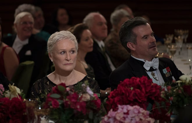 "In ""The Wife,"" Glenn Close plays Joan, a woman entirely overlooked by the literary community as she attends a Nobel Prize ceremony for her author husband."