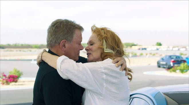 "A retired NASA pilot (William Shatner) who doesn't act his age falls for an ace strudel chef (Jean Smart) in the romantic comedy ""Senior Moment."""