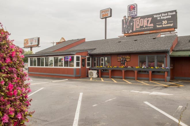 TBonz Steakhouse is a popular spot for tourists and local to go after Masters Tournament rounds during Masters Week. The Washington Road location is celebrating its 35th year in Augusta.