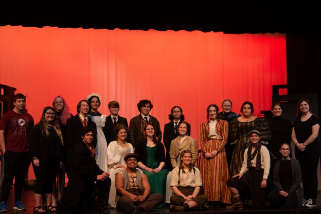 """The Brownwood High School Theatre Department has advanced to Regionals in One-Act Play competition with its rendition of """"Sweet Science of Bruising."""""""