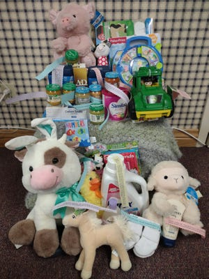 The first baby born after midnight Sunday, (March 21, the start of Ag Week) morning takes home $200 worth of Ag-themed goodies compliments of FCFB Promotion and Education Committee.
