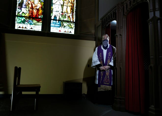 The Rev. Adam Streitenberger, coordinator for evangelizationfor the Roman Catholic Diocese of Columbus, at St. Joseph Cathedral, said Reconciliation Monday will offer expanded opportunities for people to come for confession at most area parishes.