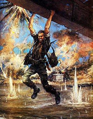 A painting of John Ripley.