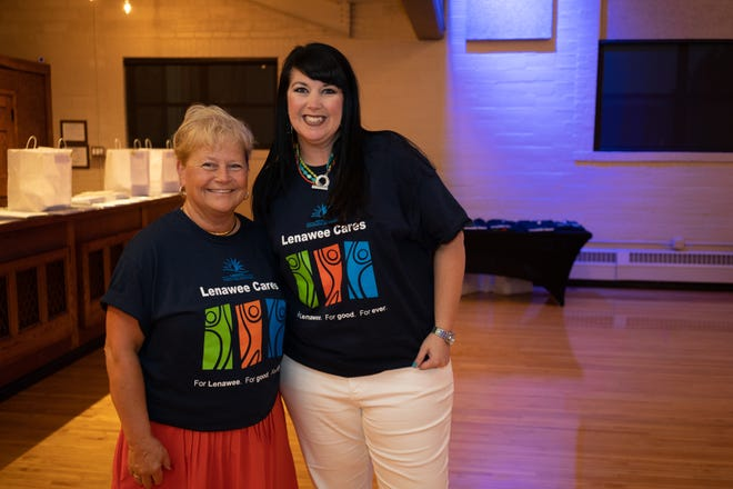 Londa Pickles, left, serves as Lenawee Cares' campaign co-chair, and Katie Mattison is involved with Lenawee Cares by serving on several nonprofit boards.