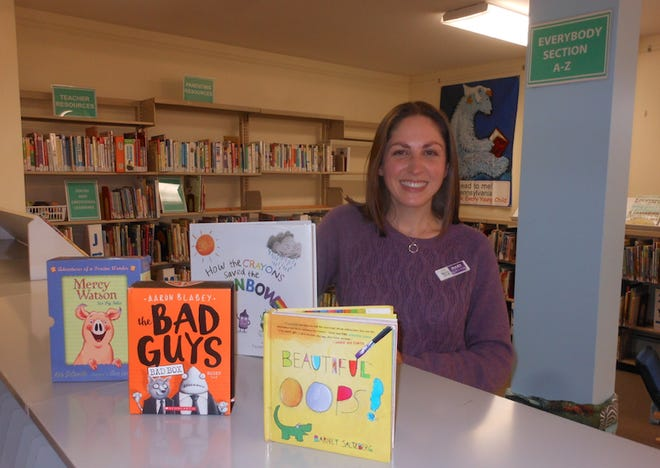 Mary Guccini, the new Youth Services Manager at Hawley Public Library, 103 Main Ave., Hawley.