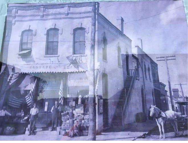 127 N State Street Geneseo in an earlier day