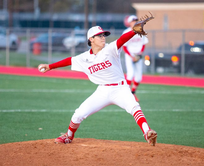 Glen Rose's Wyatt Walters allowed just one earned run in 5 2/3 innings in his start against Lampasas on Tuesday night.