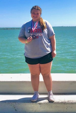 Glen Rose's Mallory Alexander became the first Lady Tiger to medal at the state powerlifting meet with her fifth-place finish last Friday in Corpus Christi.