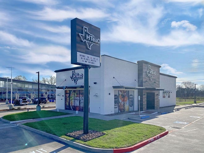 HTeaO, a Texas-based tea shop chain, plans to begin construction on a Sherman location in the near future.