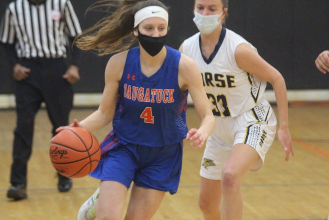 The Saugatuck girls basketball team ended their season with a loss to North Muskegon on Wednesday night