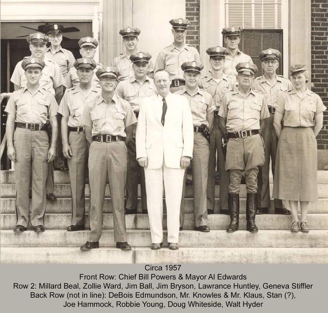 HPD staff in 1957