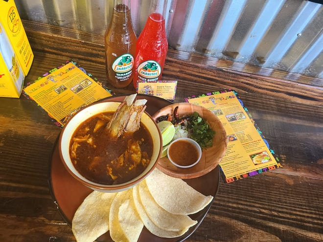 Birria de Chivo is on the menu atCuco's Tacos, 2626 N. Sheridan Road in Peoria. Birria, a soup-like Mexican dish, is a top foodie-fad nationally with many different varieties. Cuco's Tacos' version is made with goat.