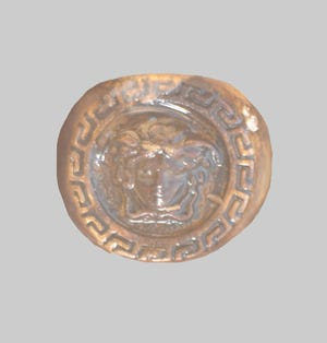Police released images of the found ring and a similar ring in hopes of helping identify skeletal remains discovered earlier this month in North Lubbock.