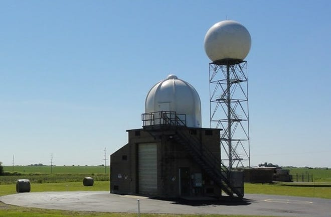 """The US National Weather Service Doppler radar in Lincoln that was installed in 1995 has reached its 20 year service life cycle. Currently equipment upgrades are being done in order to keep the radars online into the 2030s. This refurbishment is called the """"Service Life Extension Program."""" This is the third step in the program, in which the radar equipment shelter and the emergency generator are upgraded. With the radar being offline the radar data will remain available from neighboring radar sites (Chicago, Davenport, St. Louis, Evansville, and Indianapolis). """"We will be able to utilize the neighboring radar data when issuing forecasts and warnings for our service area,"""" as written in a statement on the upgrade."""