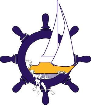 Sailboat logo.