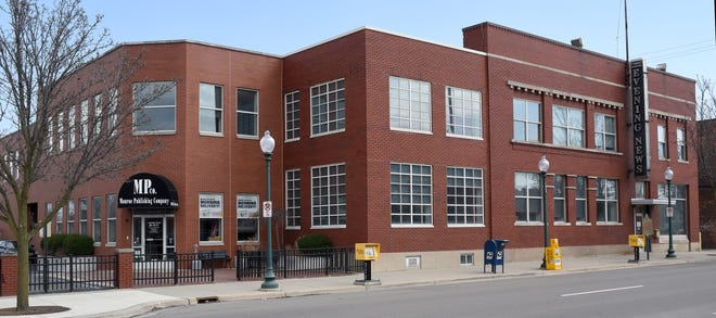 The Monroe News building on W. First St. is up for sale.