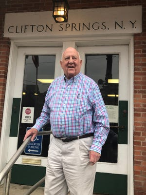 Clifton Springs Mayor Bill Hunter, who has served in the office for 26 years, is retiring March 31.