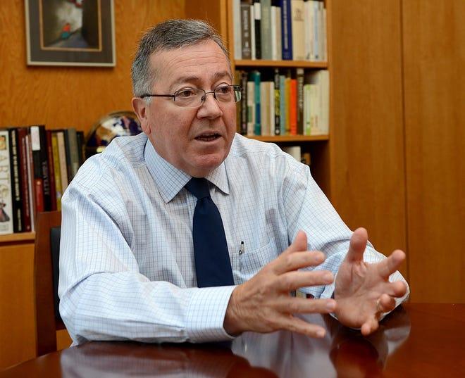 F. Javier Cevallos will retire as Framingham State University's president in August 2022.