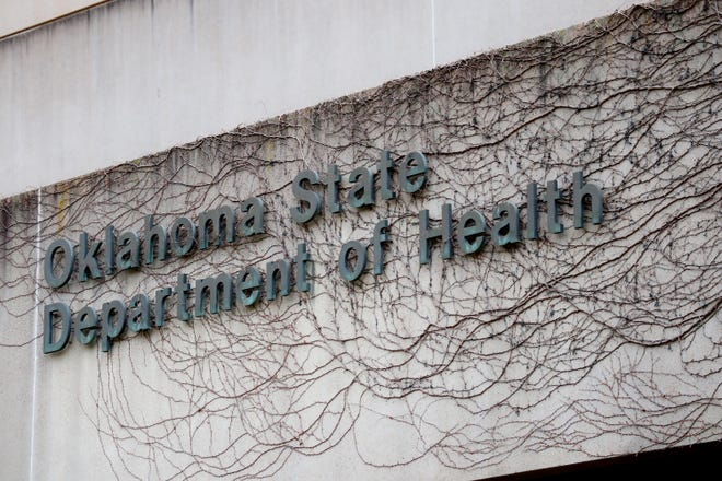 Exterior of the Oklahoma State Department of Health, Monday March 23, 2020.  [Photo by Doug Hoke/The Oklahoman]