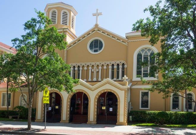 St. Ann Catholic Church in downtown West Palm Beach Thursday, March 18, 2021.