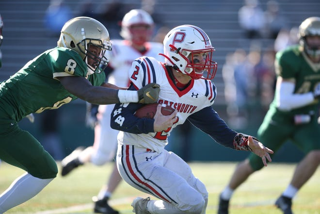 Ben Hurd serves as the heart and soul of the Portsmouth football team, whether it's at quarterback on offense or as a safety on defense.