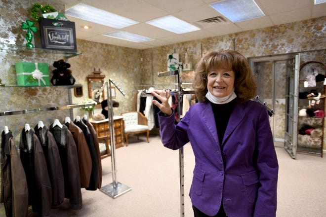 Peggy Brill of Lingenfelter-Brill in Alliance is preparing to close the store after 82 years in business.