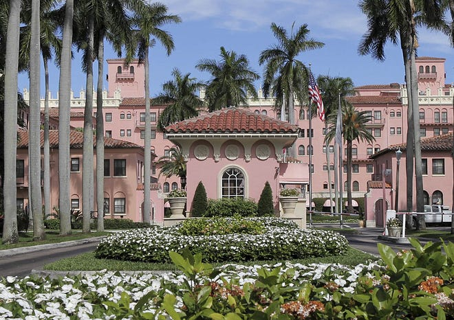 The Boca Raton Resort and Club traces its origins to boomtime architect Addison Mizner's Cloister Inn, built in 1926. Mizner dreamed of making Boca Raton a world-class resort, but the crash of the Florida Land Boom put a halt to that. He died bankrupt in 1933.