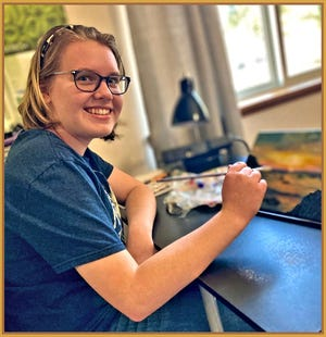 Claire Wilson of Scott Valley will share her work at the Marble Rim Gallery in Fort Jones.